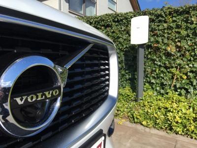 Alle elektrische auto's kunen laden aan oplaadpunt ICU Eve Mini